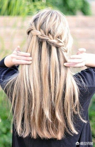 发型图片女中长发,中长发发型怎么设计才漂亮?
