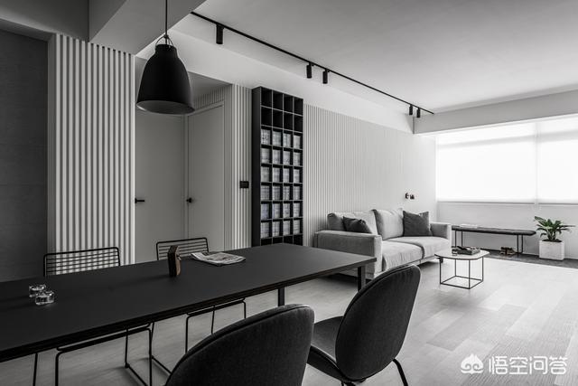 黑白灰简约风格装修搭配方法及装修注意事项有哪些?