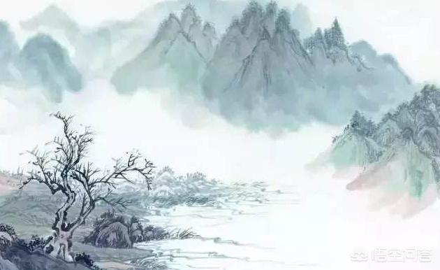 """""""野旷天低树,江清月近人"""",应该怎么理解?(图1)"""
