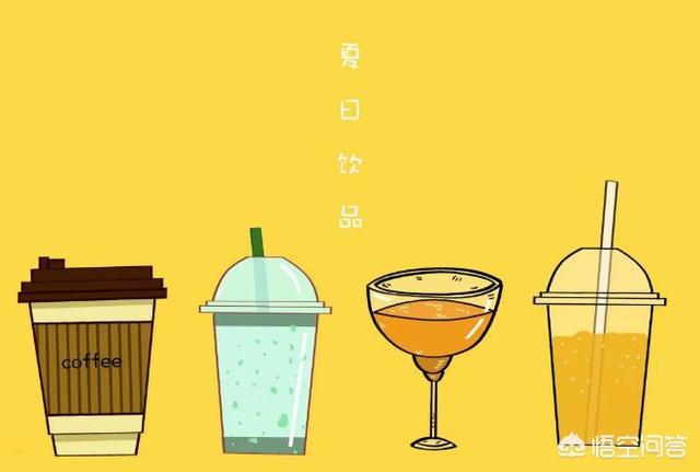 夏天喝什么饮品可以消暑解热?
