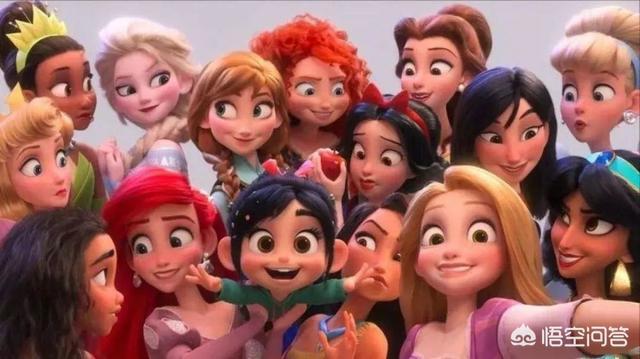 迪斯尼公主图片,迪士尼所有公主(附图片)?