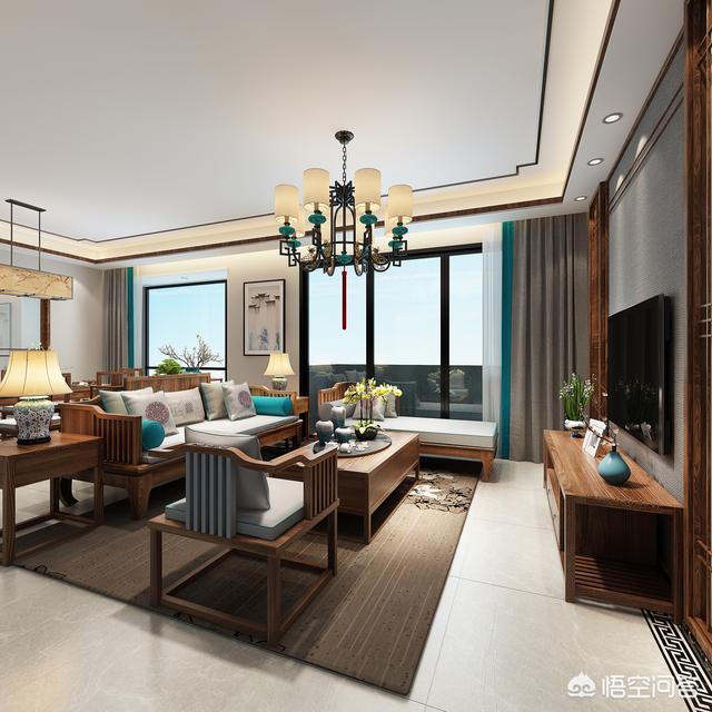 装修,家里全部铺成浅灰色瓷砖、大白墙,所有家具都买成胡桃色的好看吗?
