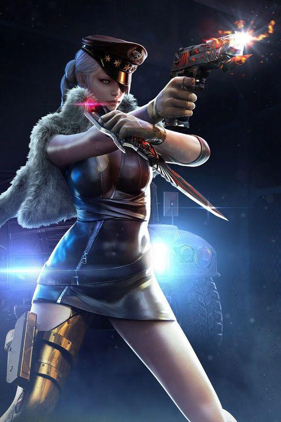 穿越火线女角色去衣,cf比赛为什么都用女角色?