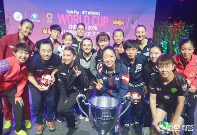 国际乒联女子世界杯16强新鲜出炉,都有