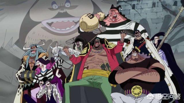 《海贼王》为什么黑胡子实力很强,却一直喜欢