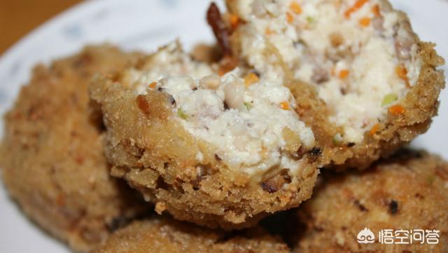 怎么做出外焦里嫩的豆腐丸子?(豆腐猪肉丸子的做法窍门)