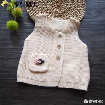 钩针钩织教师节礼物图解,怎样给刚出生的宝宝编织背心?