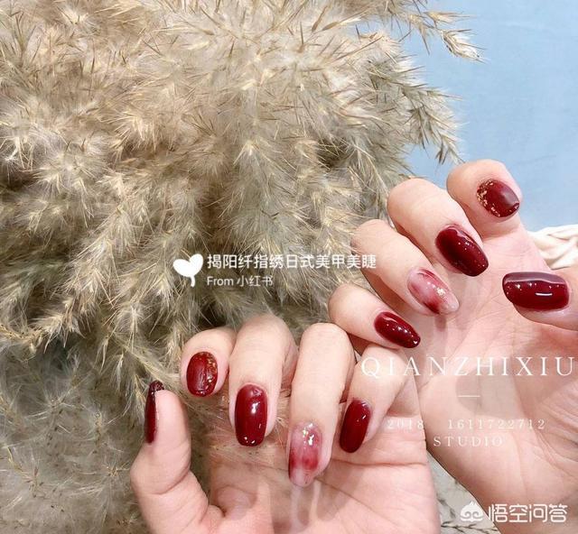 美甲图片:好看的红色系美甲,有哪些小姐妹小仙女推荐嘛?