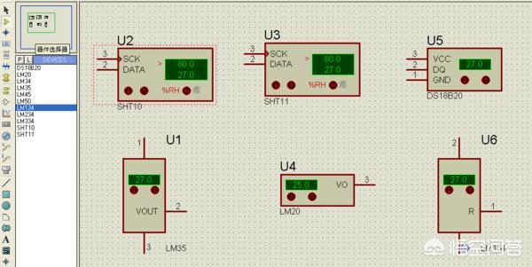 温度传感器符号怎么表示?