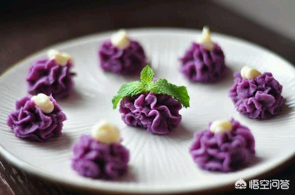 可以用紫薯来做什么小吃?