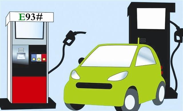 在汽油中添加10%的乙醇,对汽车发动机有什么影