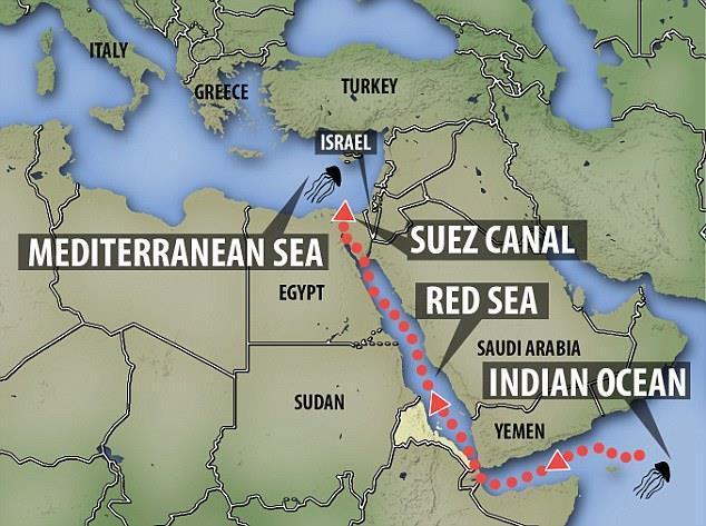 苏伊士运河属于哪个国家(苏伊士运河一年收入)