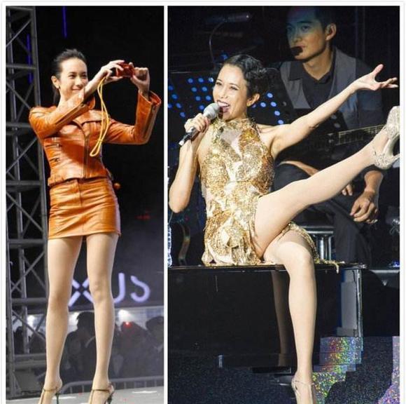 丰满美女大腿图片搜索,中国女明星里谁的腿特别好看?