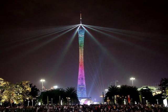 广州塔简笔画,广州塔和广州电视塔是一个吗?