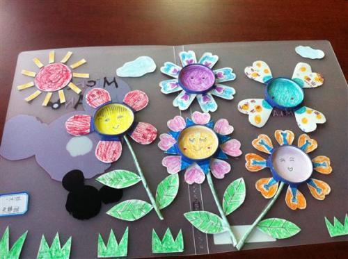 教师节礼物花束橡皮泥,孩子对做手工很热衷,您会陪孩子做手工吗?