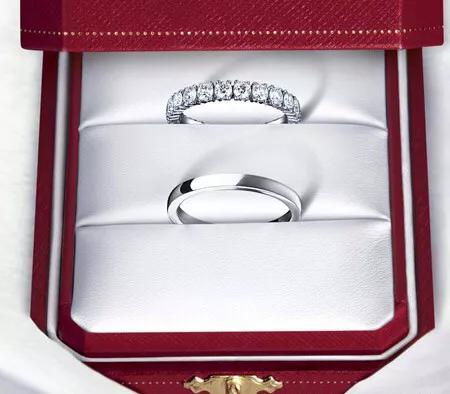 蒂芙尼轻奢情人节礼物,蒂芙尼和卡地亚对戒,哪款比较好?