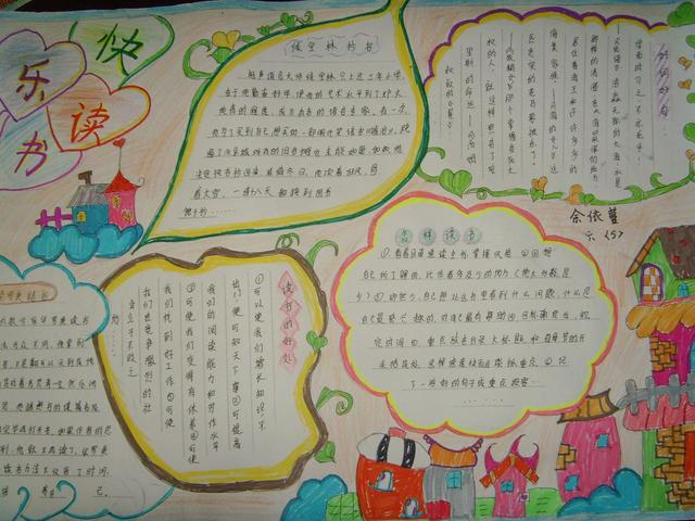 语文手抄报简单,语文手抄报怎么画简单又漂亮?
