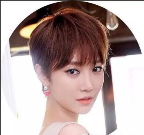 短发美女头像,你最爱的短发女神是哪一个?