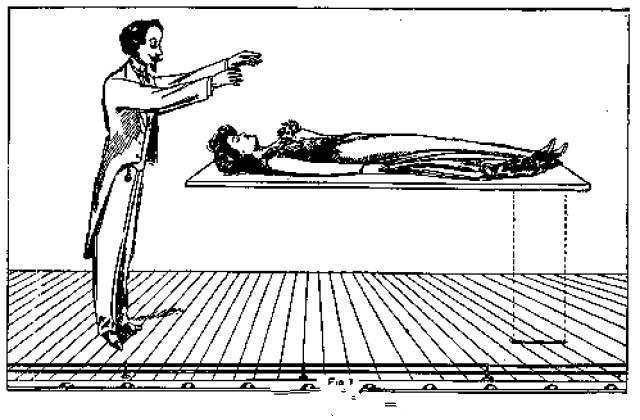 144老顽童人体艺术,人体漂浮魔术是怎样做到的?