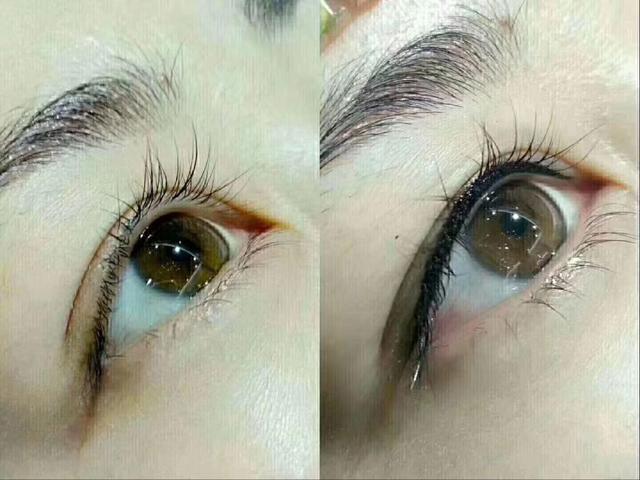 美瞳线和眼线的效果图,美瞳线ab线是什么意思?