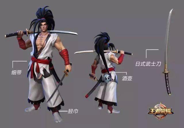 日本武士发型,宫本武藏的最新皮肤是什么?