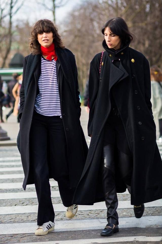 春夏毛呢外套,纯紫色还是领结更经典之作?(图4)