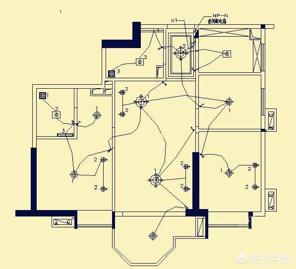 家装电路图该怎么画?