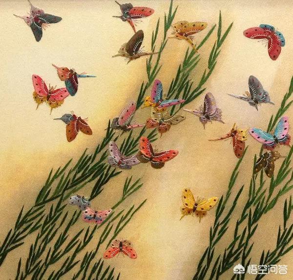 中国哪个刺绣属于传统刺绣?