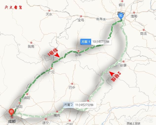 春节从西安出发自驾游,那条线路比较迷人?