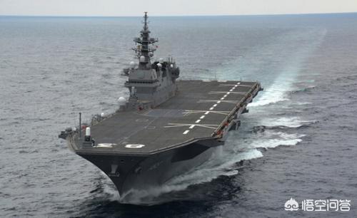 日本海上自卫队的出云级直升机航母可以改造为