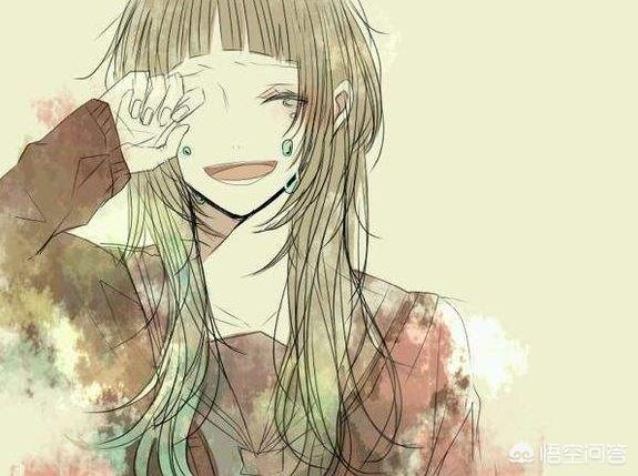 哭的头像,有木有女生动漫笑着哭的头像?