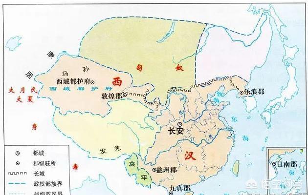 唐朝和汉朝谁的疆域大?(图2)