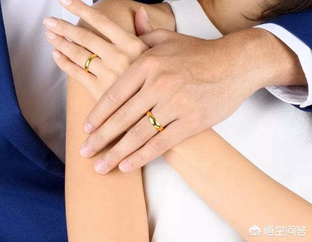 黄金戒指图片,打一个黄金戒指要多少钱啊?