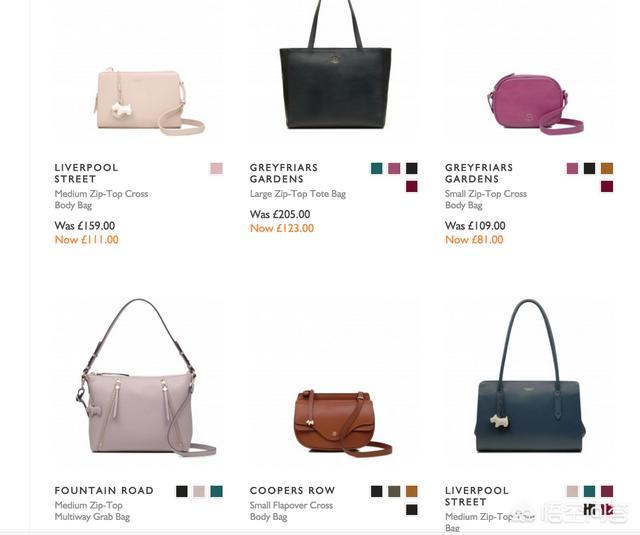 英国有什么品牌的包包 英国有个女孩头像的包包 英国有哪些当地的特色包包品牌推荐?