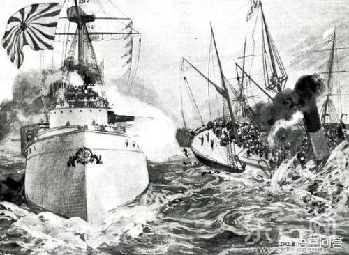 甲午海战中日损失的战舰 甲午中日战争,一只拥
