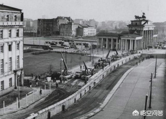 东德和西德的分界线,关于柏林墙的来历是什么?