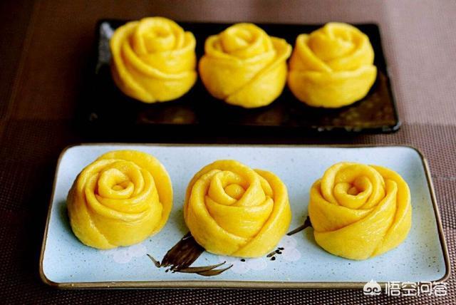 用面粉怎么做出好吃的玫瑰花馒头?(花馒头多种花样的制作)