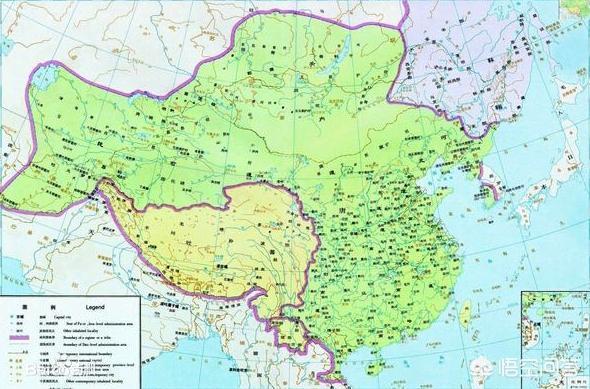 盛唐时期,大唐的版图是怎样的,最大能够管辖多远?