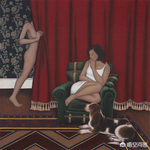 中国美女裸照,哪些当代绘画有古典情结?