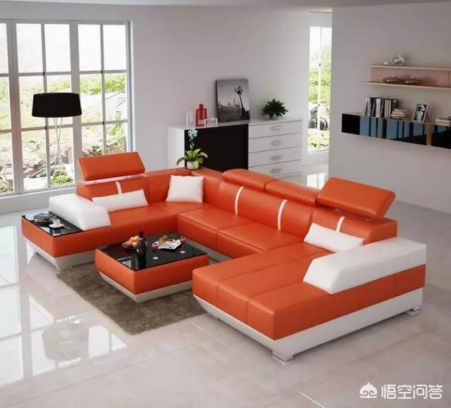 家用沙发图片大全图,客厅沙发怎么选?尺寸多大合适?
