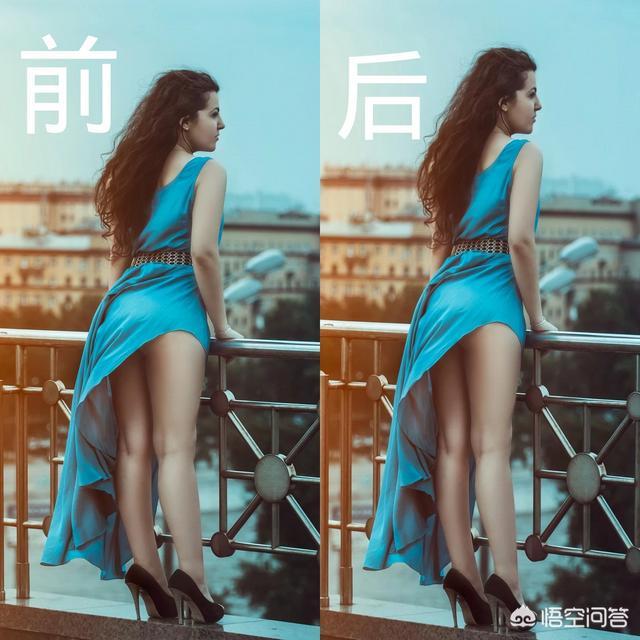 photoshop怎么能把人的身材变的高大?(ps怎么把图片变大)