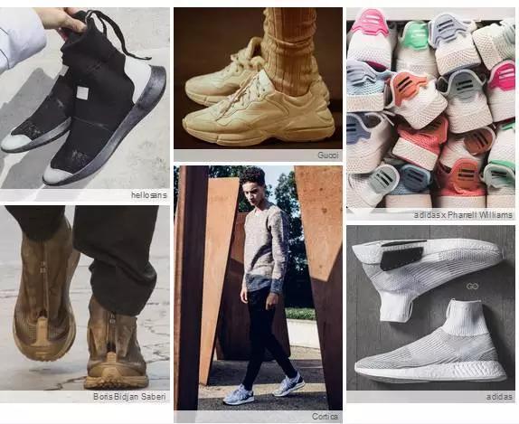 有哪些好看的男士运动鞋?