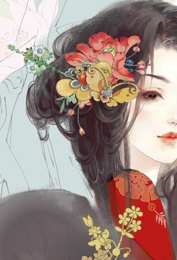 女生头像好看,好看的手绘头像,有推荐吗?