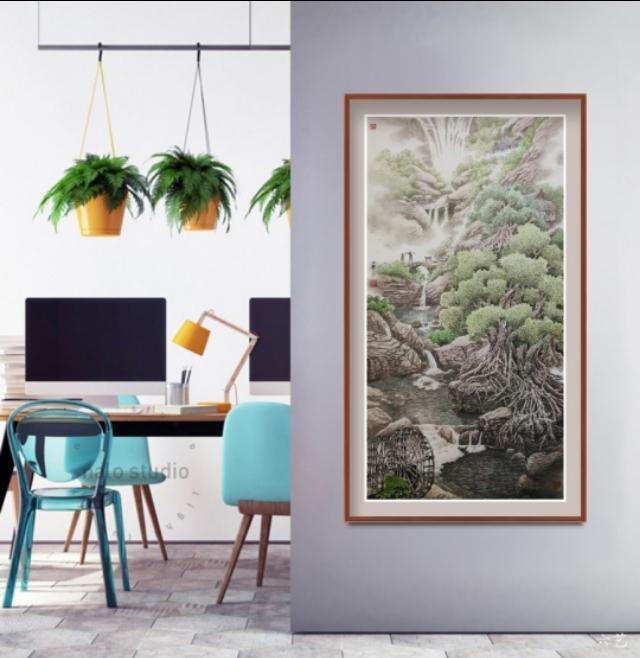 如何选择一幅绝佳的国画装饰,装点居家环境,堪称经典的国画有哪些推荐?