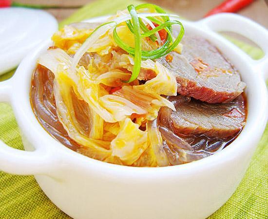 熟牛肉炖粉条怎么做好吃?