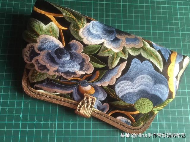 刺绣手工艺能做成什么样的东西?