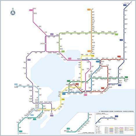 青岛地铁规划图最新版,青岛地铁9号线一期详细站点?