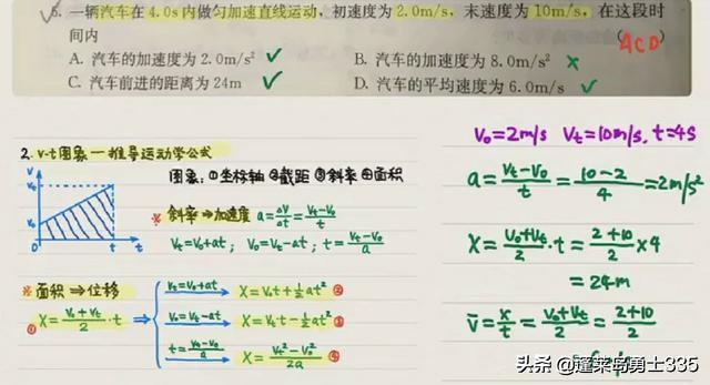 物理怎么这么难?大家好我是一名高一的学生,在家里学习网课发现我物理题目下不去笔,大家有什么好的办法?(图2)