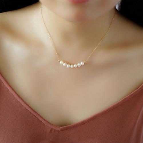 哪些款式的珍珠项链适合20岁左右的女孩子佩戴?插图12