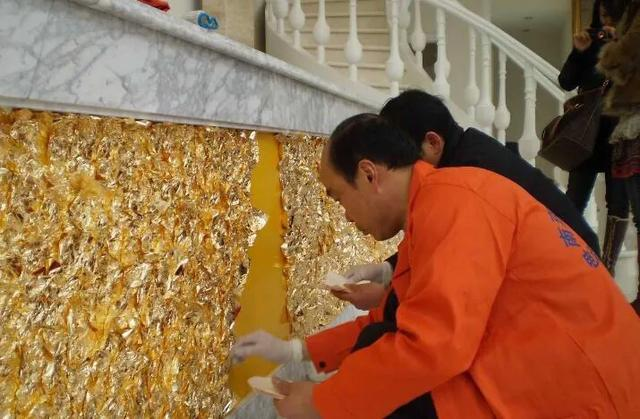 水性金箔漆的特点是什么?